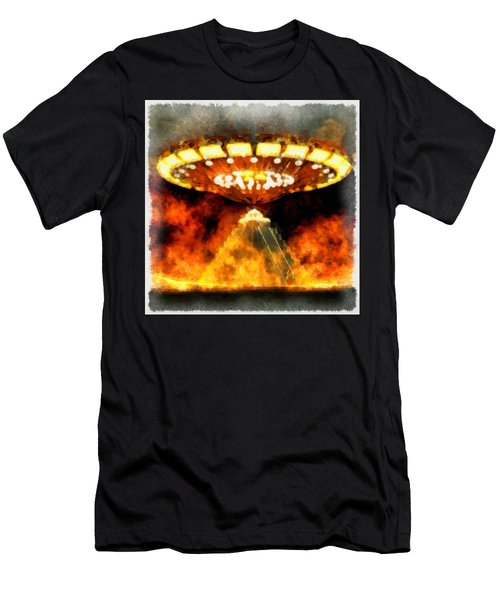 Ufo Mayans Men's T-Shirt (Athletic Fit)