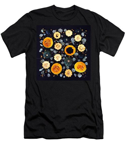 Squash Patterns Men's T-Shirt (Athletic Fit)