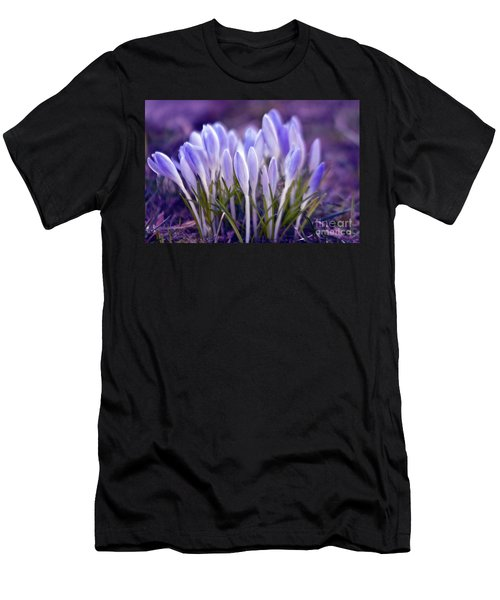 Men's T-Shirt (Athletic Fit) featuring the photograph Ultra Violet Sound by Silva Wischeropp