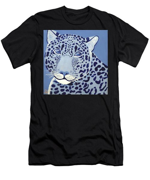 Ultramarine Jaguar Men's T-Shirt (Athletic Fit)