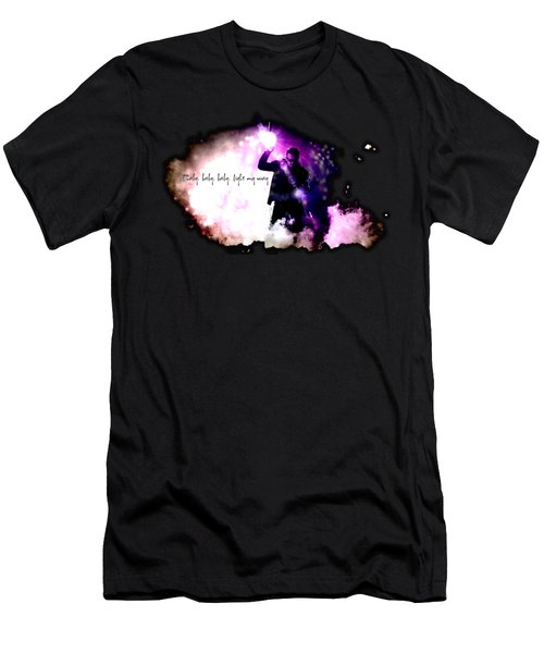 Ultraviolet Men's T-Shirt (Slim Fit) by Clad63