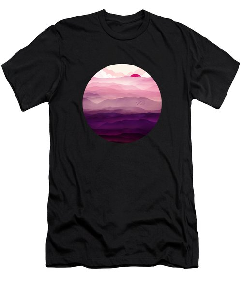 Ultraviolet Day Men's T-Shirt (Athletic Fit)