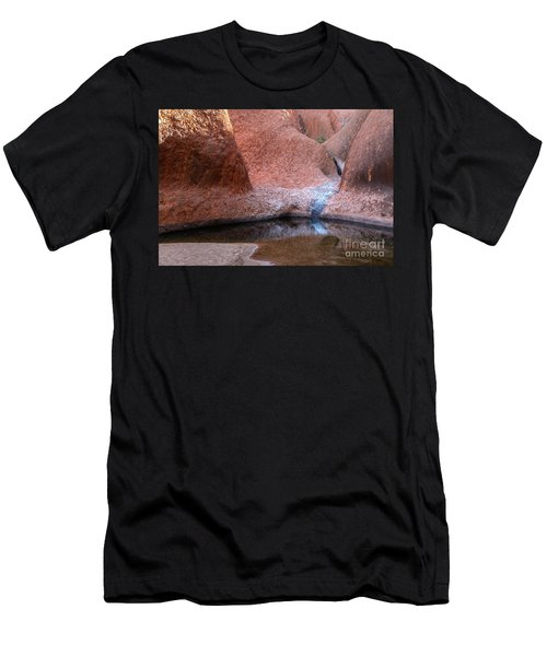 Men's T-Shirt (Athletic Fit) featuring the photograph Uluru 03 by Werner Padarin