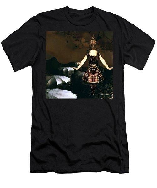 Umbrella Dance Men's T-Shirt (Athletic Fit)