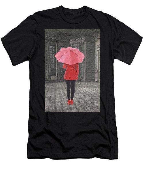 Umbrella Men's T-Shirt (Athletic Fit)