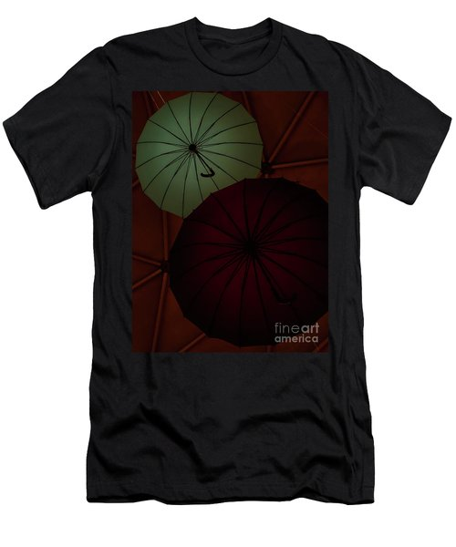 Umbrellas Men's T-Shirt (Athletic Fit)