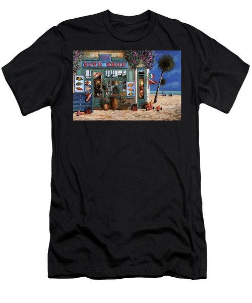 Un Negozio Al Mare Men's T-Shirt (Athletic Fit)