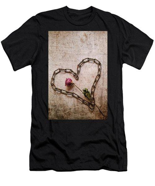 Unchain My Heart Men's T-Shirt (Athletic Fit)