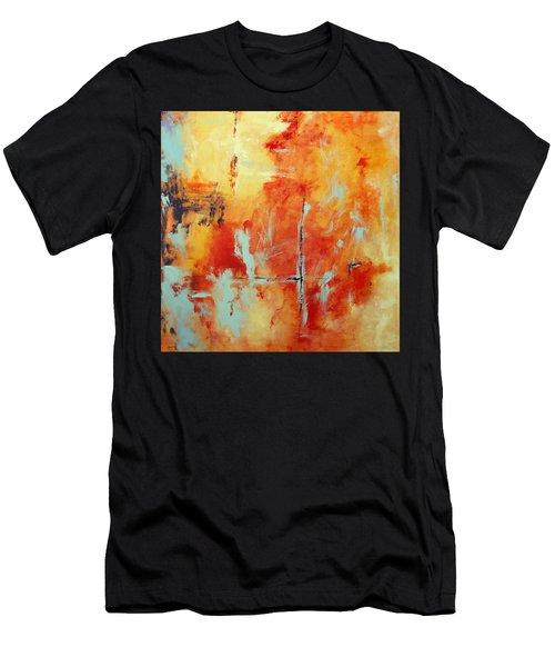 Uncharted Destination Men's T-Shirt (Athletic Fit)