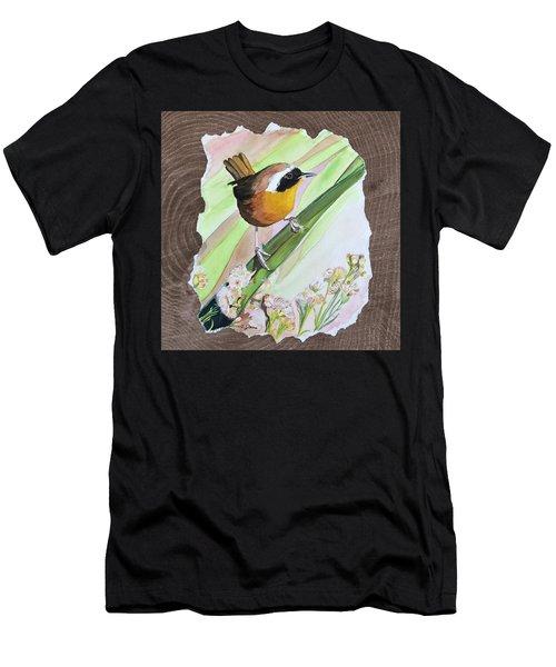 Uncommon Yellowthroat Men's T-Shirt (Athletic Fit)