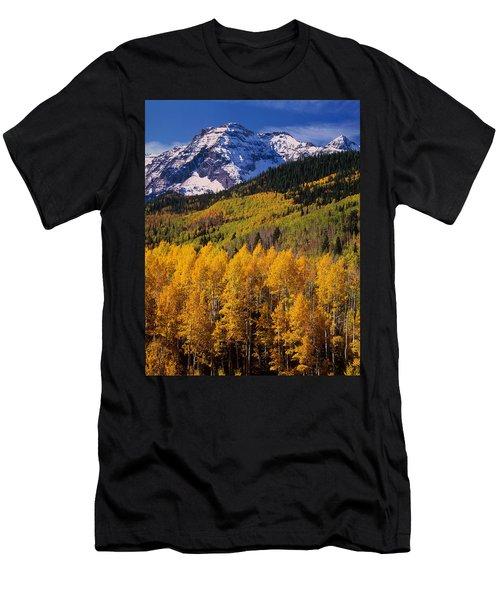 Uncompahgre National Forest Co Usa Men's T-Shirt (Athletic Fit)