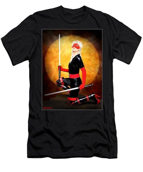 Under A Blood Moon Men's T-Shirt (Athletic Fit)