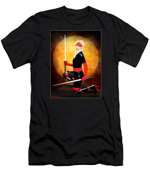 Under A Blood Moon Men's T-Shirt (Athletic Fit)