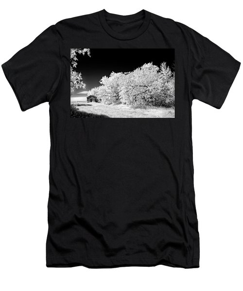 Men's T-Shirt (Slim Fit) featuring the photograph Under A Dark Sky by Dan Jurak