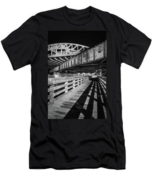 Under Boston University Bridge Men's T-Shirt (Athletic Fit)