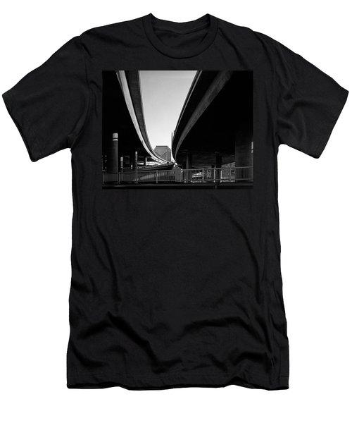 Under Interstate 5 Sacramento Men's T-Shirt (Athletic Fit)