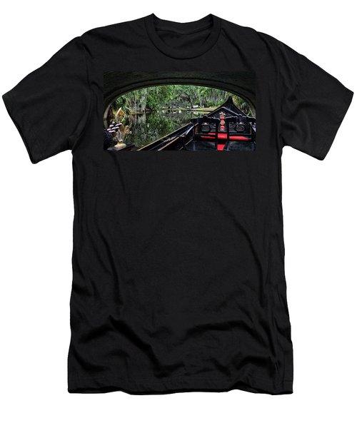 Under The Bridge Men's T-Shirt (Slim Fit) by Judy Vincent