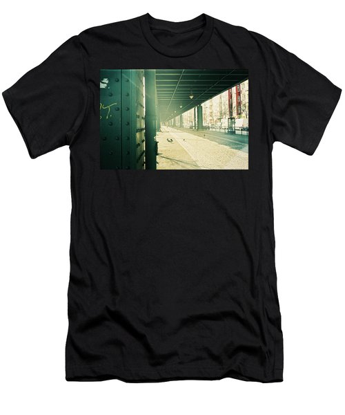 Under The Elevated Railway Men's T-Shirt (Athletic Fit)