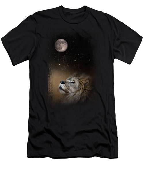 Under The Moon And Stars Men's T-Shirt (Slim Fit) by Jai Johnson