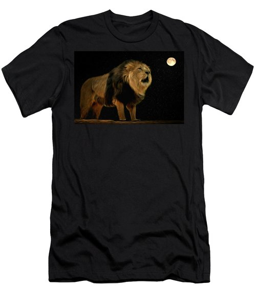 Under The Moon Men's T-Shirt (Athletic Fit)