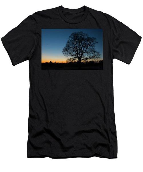 Under The New Moon Men's T-Shirt (Slim Fit) by Dana Sohr