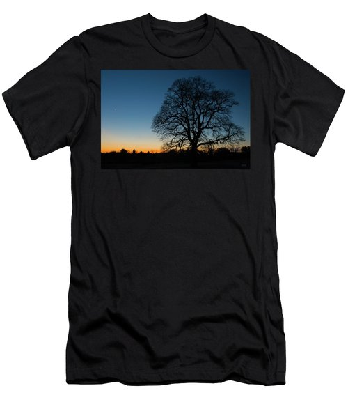 Under The New Moon Men's T-Shirt (Athletic Fit)