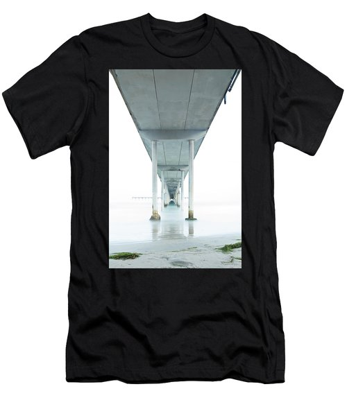 Under The Ocean Beach Pier Early Morning Men's T-Shirt (Athletic Fit)