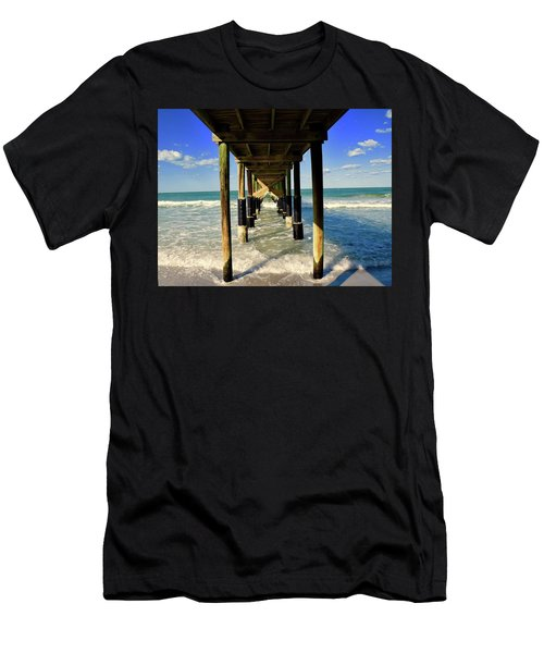 Under The Pier Men's T-Shirt (Athletic Fit)