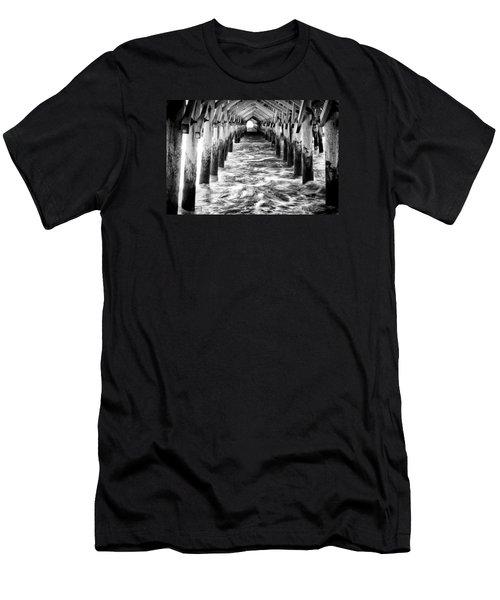 Pier - Myrtle Beach South Carolina Men's T-Shirt (Athletic Fit)