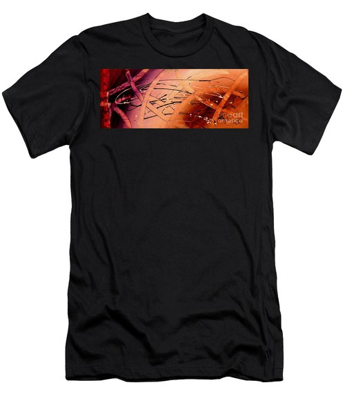 Under The Sea Abstract Modern Art By Saribelle Men's T-Shirt (Athletic Fit)