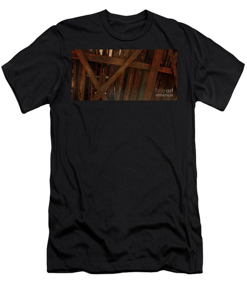 Under The Train Tracks Men's T-Shirt (Athletic Fit)