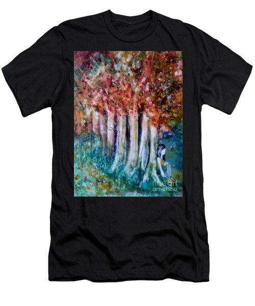 Under The Trees Men's T-Shirt (Athletic Fit)