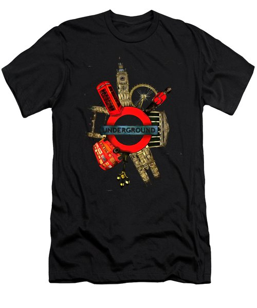 Underground Men's T-Shirt (Athletic Fit)
