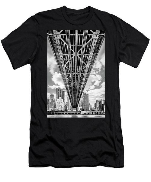 Underneath The Queensboro Bridge Men's T-Shirt (Athletic Fit)