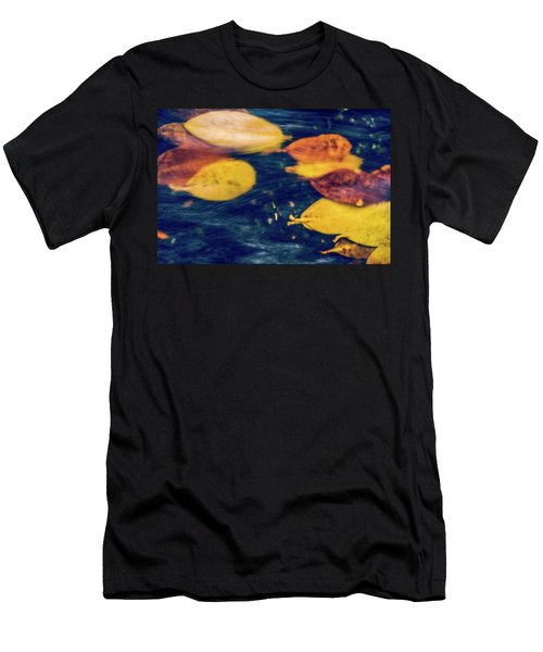Men's T-Shirt (Athletic Fit) featuring the photograph Underwater Colors by Gene Garnace