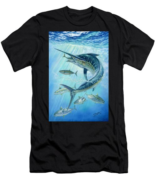 Underwater Hunting Men's T-Shirt (Athletic Fit)