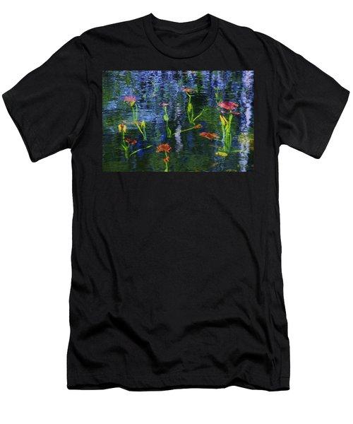 Underwater Lilies Men's T-Shirt (Athletic Fit)