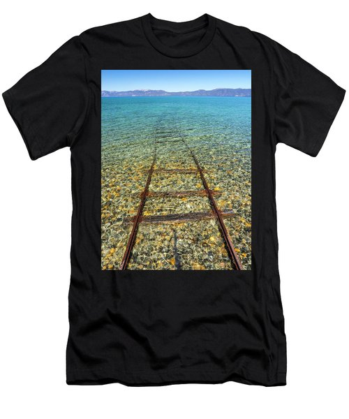 Underwater Railroad Men's T-Shirt (Athletic Fit)