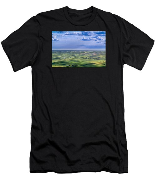 Undulating Palouse Wheatfields Men's T-Shirt (Athletic Fit)