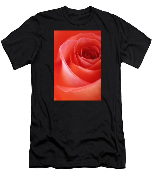 Une Rose Si Belle Men's T-Shirt (Athletic Fit)