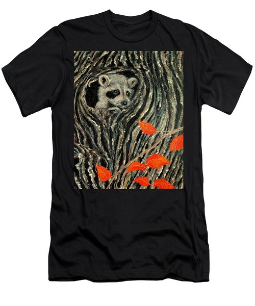 Unexpected Visitor Men's T-Shirt (Slim Fit) by Susan DeLain