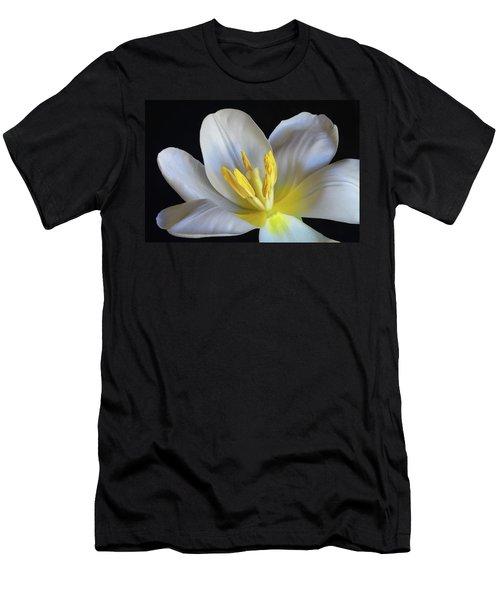 Unfolding Tulip. Men's T-Shirt (Slim Fit) by Terence Davis