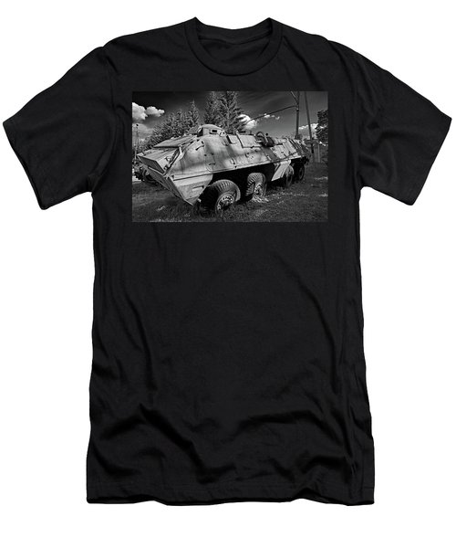 Men's T-Shirt (Athletic Fit) featuring the photograph Unfriendly by Tgchan