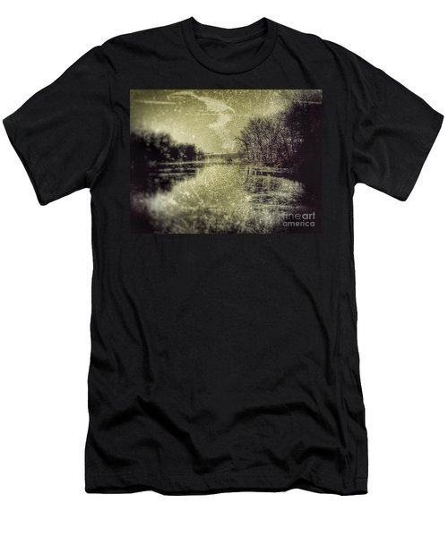 Unfrozen Lake Men's T-Shirt (Slim Fit) by Jason Nicholas