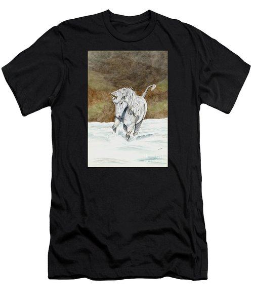 Unicorn Icelandic Men's T-Shirt (Athletic Fit)