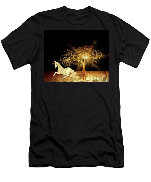 Unicorn Resting Series 1 Men's T-Shirt (Athletic Fit)