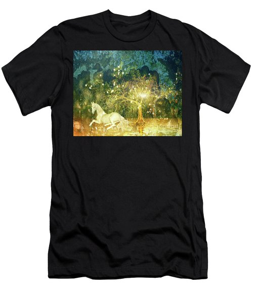 Unicorn Resting Series 3 Men's T-Shirt (Athletic Fit)