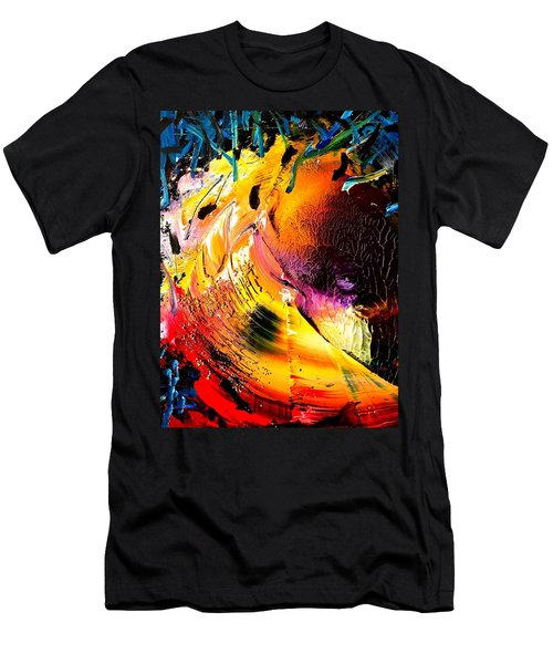 Unicorn Wave Men's T-Shirt (Athletic Fit)
