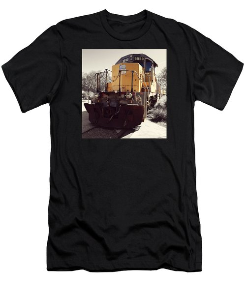 Union Pacific No. 9950 Men's T-Shirt (Athletic Fit)
