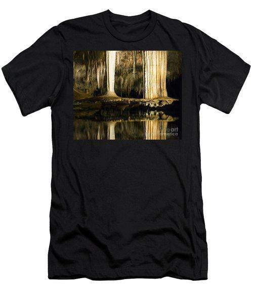 Men's T-Shirt (Athletic Fit) featuring the photograph Unique Formation by Angela DeFrias